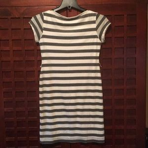 Sharagano Dresses - Size 4. Nautical stripped dress.